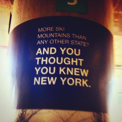 That's the NYC I remember. #nyc #newyork #copywriter #adlife #laguardia #iphonography #signage #movestomake #maip2014