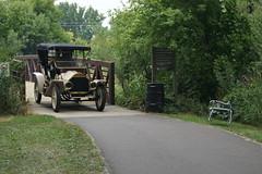 1908 Overland (DVS1mn) Tags: new london car brighton antique run era brass brassera newlondontonewbrighton nlnb nlnbacr 28thannualnewlondontonewbrightonantiquecarrun