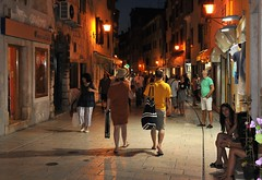 Veern Rovinj (saasrigais) Tags: city evening croatia rovinj chorvatsko