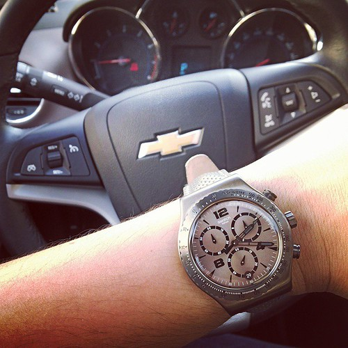 Off to work. #watchporn #wrist