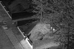 Studying (Herr Olsen) Tags: light shadow people bw woman lesen licht frau landschaftspark duisburg studying schatten schwarzweis lapadu