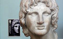 DCS56 British Museum - Alexander the Great (HairyHippy) Tags: uk england london unitedkingdom bloomsbury britishmuseum marblebust alexanderthegreat greatrussellstreet sonyhdrcx115 alexaderhomegos