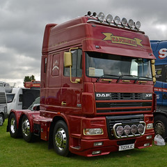 K&J Charles - DAF XF95 480 Super Space Cab (Yorkshire Truck Photography) Tags: original charles kj daf 2014 xf truckfest