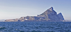 Gibraltar (tony.evans) Tags: sea rock ferry plane marine ship dolphin vessel container bunker dolphins catamaran airbus a380 gibraltar tanker levante straitofgibraltar bayofgibraltar straitride yachtbunkering britishairwaysstraitride