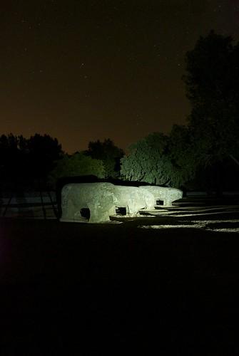 Toros de Guisando Nocturna