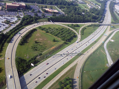 I-85 Below (Sotosoroto) Tags: atlanta georgia aerial freeway