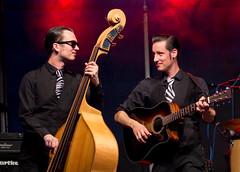 Kossi und Preston - Mr. Twist (blumenbiene) Tags: mr twist mister rocknroll rock n roll band live musik music konzert concert preston kossi