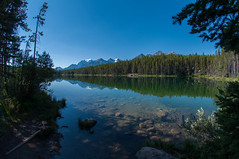 Herbert Lake (Martin Isaac) Tags: lake canada rockies alberta banffnationalpark canadianrockies 2014 herbertlake
