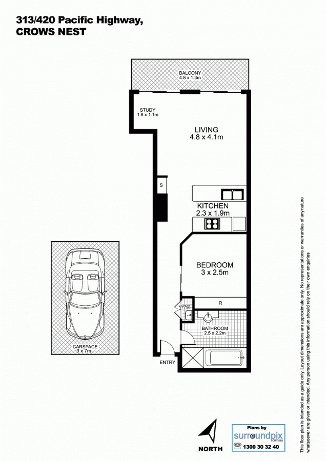 313 402 pacific highway crows nest nsw 2065 australia for Crows nest house plans