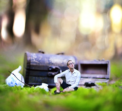 The Opposite of Loneliness (Aisha Tung) Tags: forest conceptual minature joelrobison
