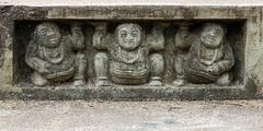 Dwarfs (IMG_0209b) (Denish C) Tags: beauty religious temple peace symbol dwarf buddha religion culture buddhism carving holy step sacred srilanka ceylon skill mahiyangana viharaya solosmasthana