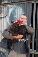 IMG_0422 (francois f swanepoel) Tags: chicken cock jaco australorp westerncape blackcock orpington montagu australorpxorpington