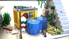 Cargo Pods (Piece of Slice) Tags: rebel dawn vines lego explosion cargo forge resistance
