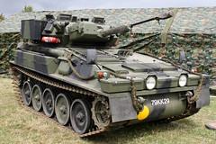 Alvis Scimitar 79KK29 (NTG's pictures) Tags: show military scorpion trust vehicle and trucks fighting combat society warwickshire tanks alvis spartan scimitar firepower tracked 2014 dunchurch reconnaissance cvrt scimtar 79kk29