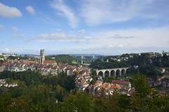 Fribourg / Ref. 06085 (FRIBOURG REGION) Tags: bridge schweiz switzerland suisse cathedral kathedrale cathdrale pont fribourg freiburg brcke altstadt oldtown vieilleville poya fribourgregion