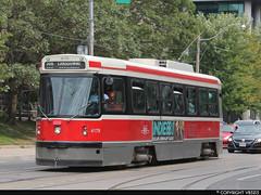 Toronto Transit Commission #4179 (vb5215's Transportation Gallery) Tags: toronto canada ttc transit 1981 streetcar commission hawker l2 utdc siddeley clrv