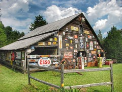 My Favorite Sign Barn (FagerstromFotos) Tags: signs sc sign barn rural fence advertising country rustic upstate cocacola esso gaspump pickens