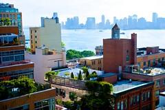 Hudson River (fr1tznyc) Tags: newyork rooftop westvillage hudsonriver