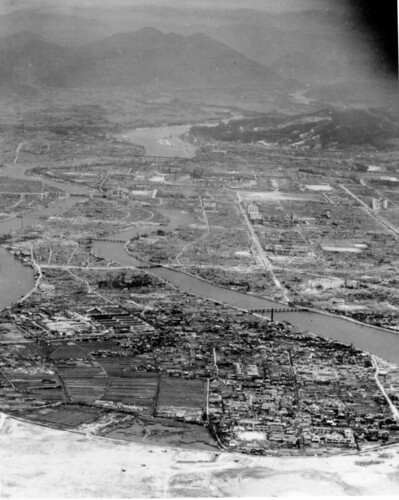 Hiroshima after the dropping of the Abomb in 1945