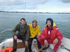 Sortie en mer avec Gilles et Oscar