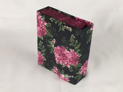 porta baralho com bloco (Mi Meira) Tags: caixa tecido papelão caixaparabaralho mimeira