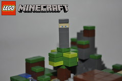 Lego Minecraft Micromob: Ninja (Cobalt Customs) Tags: dark lego ninja customs matter minecraft micromob darkmattercustoms
