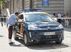 Citroen C4 Aircross Policia Nacional (juanemergencias) Tags: madrid españa spain citroen police polizei policia c4 polizia cnp aircross policianacipnal