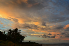 One More Sunset (hpaich) Tags: sunset sky cloud color weather evening newjersey skies nuvola sundown dusk nj atmosphere cielo jersey nuvem nube wolk twillight pilv
