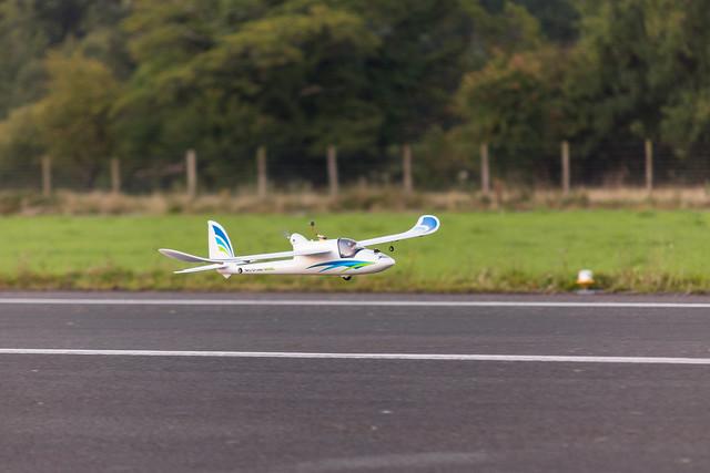 Glenn's Glider rigged for FPV.