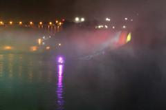 Misty Cruise (Diane Whisman) Tags: ontario canada niagarafalls waterfall canonrebel ontariocanada nighttimephotography niagarafallscanada niagarafallsillumination