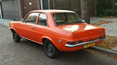 Vauxhall Viva 1.3 Deluxe (sjoerd.wijsman) Tags: auto orange holland cars netherlands car nederland thenetherlands delft voiture vehicle holanda autos viva paysbas olanda oranje vauxhall fahrzeug niederlande zuidholland onk carspotting vauxhallviva carspot cwodlp 95jd51 sidecode3