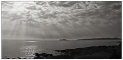 Sun Beams (Tony Kav) Tags: road ireland howth dublin eye coast tony irelands malahide kavanagh