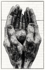 Memorial for Peace (Andy J Newman) Tags: birmingham bullring art artisitic statue memorial nikon d500 silverefex