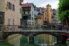 Annecy 13 (mpetr1960) Tags: annecy city france europe eu bridge building water river tree nikon nikond800 d800