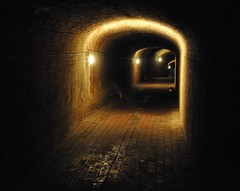 Calke Abbey Derbyshire 16th October 2016 (loose_grip_99) Tags: calke abbey nationaltrust stately home house palace derbyshire england uk midlands eastmidlands october 2016 halloween shadows darkness tunnel