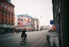 copenhagen, november 2014 (kodacolorframes) Tags: copenhagen norway travel scandinavia lomo lca film analogue fuji200 35mm cyclist