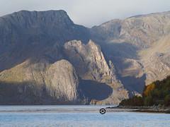 Komagfjord (jan-krux photography - thx for 1.6 Mio+ views) Tags: komagfjord mountains berge landscape landschaft norwegen norway norge europe europa travel reisen sun shadow water sea olympus em1 omd