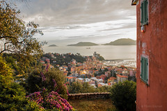 Lerici sunset (Martin Bachert) Tags: ligurien lerici d800 2470mm sunset panorama la spezia colorfull landscape