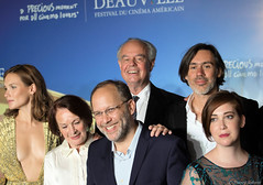 10-09-2016-62 Ana Girardot Frdric Mitterand  Emmanuel Mouret Franoise Arnoul Ira Sachs Anna Rose Olmer (Thierry Sollerot) Tags: deauville2016 thierrysollerot tapis rouge deauville festival film amricain american