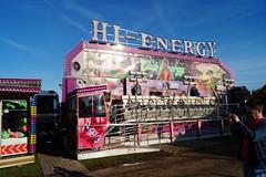 DSC02208 (A Parton Photography) Tags: fairground rides spinning longexposure miltonkeynes fireworks bonfire november cold