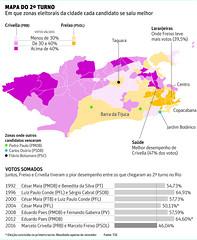 Resultado do 1 turno no Rio (Gustavo Queirolo Pereira) Tags: infographics map elections folha