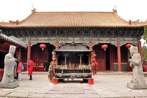 Taishan city - Dai temple