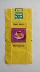 Srie Saint Louis Tasses - tasse 03 (periglycophile) Tags: priglycophilie sucrology sugar packet sucre morceaux cube france saint louis srie series tasses