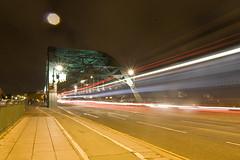 Wearmouth Bridge (Mickyboyc) Tags: tyne bridge wearmouth sunderland tyneandwear lights trails cars traffic longexposure