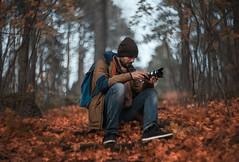 Autumn (mishamikheev) Tags:            85  autumn behind scenes colors forest nature leaves cool helios bokeh photographer 85mm portrait
