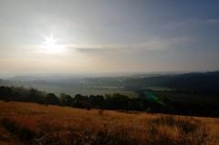Watery sunrise over Surrey (smcnally24601) Tags: box hill national trust autumn fall surrey hills mist morning sunrise england britain