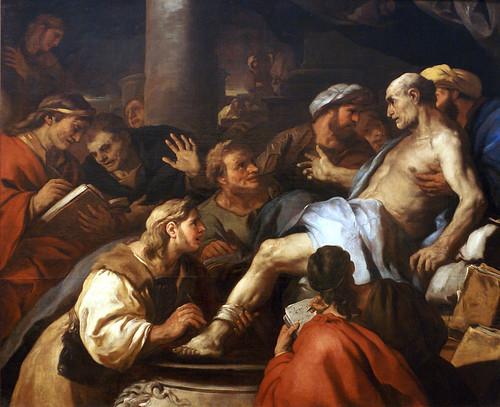 Luca Giordano, Tod des Seneca (Death of Seneca)
