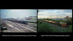 Newark Northgate 'Then 1962 - Now 2012' (FlyingScotsman4472) Tags: lner gresley newark northgate station june 1962 peppercorn a1 60163 tornado 2012 steam ecml then now