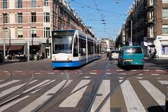 Amsterdam grand union DSCF4660 (jsmatlak) Tags: tram trolley streetcar electric railway amsterdam holland gvb museum
