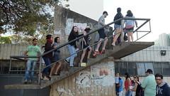 (vcheregati) Tags: escada subindo bunda bumbum cartaz anncio cidadeconstitucional acidadeconstitucional2016 7desetembro esplanadadosministrios braslia alunos pessoas